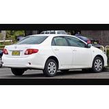 Sucata Toyota Corolla 2009