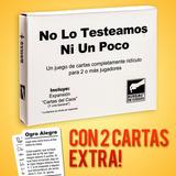 No Lo Testeamos Ni Un Poco+ Cartas Exclusivas De Regalo!!!