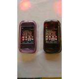 Capinha De Silicone Nokia C2-02/c2-03/c2-06 (2 Unidades )