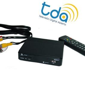 Conversor Decodificador Sintonizador Tda-tdt-hd-hdmi-usb-tv