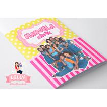 Lembrancinha Chiquititas - Kit Colorir Personalizado
