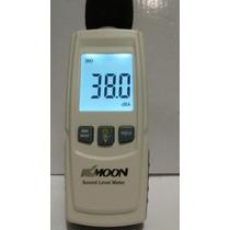 Decibelímetro Digital Para Medir Ruídos, Sonoros, + 3pilhas