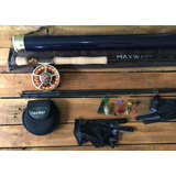 Kit Pesca Com Mosca Fly Fishing 7/8 Completo 10ft 3m Carbono