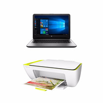Notebook Hp Intel Core I5 8gb 1tb Led W10 + Impresora Regalo