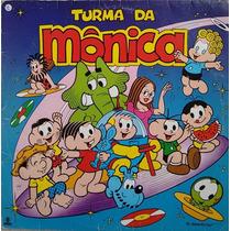 Lp Disco De Vinil Turma Da Mônica 1987 - Com Encarte