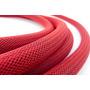 Cable Portaelectrodo Con Techflex Rojo Calibre 0 Cobre 100%