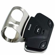 Bluetooth Manoslibres 2 Celulares Auto Volante / Mvd Shopp
