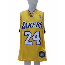 Musculosa Oficial Lakers Nba Niño -musculosaofn