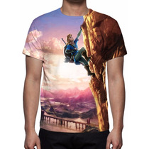 Camisa, Camiseta Game The Legend Of Zelda Breath Of The Wild