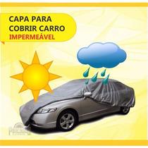 Capa De Chuva Carro 100% Impermeável Gol Golf Saveiro Fiat