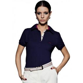 Camisa Gola Pólo Feminina Principessa Mariane