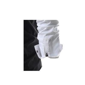 Camisa Patchwork Casual Slim Fit