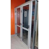 Puerta De Aluminio Blanco Impecable 70 X 200 Cm