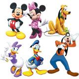 06 Adesivos De Parede Turma Do Mickey Mouse Frete Grátis