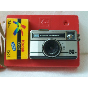 Camera Fotografica Kodak Estojo E Manual Original, Funciona