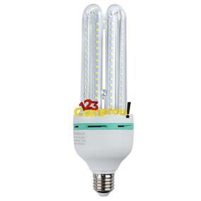 Lâmpada Led 24w 4u E27 Bivolt Branco Frio - Pronta Entrega