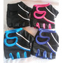 Guantes Para Gym Mujer Hombre Talla S M L Xl Gimnasio Fitnes