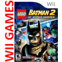 Lego Batman 2 Dc Super Heroes - Original Wii Y Wii U - Es