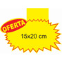 Cartaz Splash Oferta (15x20cm) Papel Dupléx 250g - 100 Und.