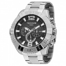 Relógio Technos Legacy Cronógrafo Grande Prata Os20in/1p