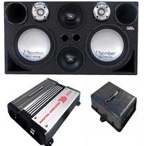 Caixa Trio Destroyer + D250x St400 + 2 Módulos H3000 Ts400