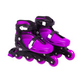 Patins In-line Roller Roxo - Tam G (37 A 40) - Bel Sports