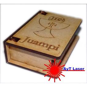 Cajita Libro Comunión Souvenir Fibro Facil (ideal Denario)