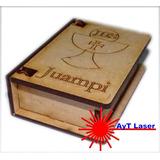 Combo 10 Caj. Libro Comunión Souvenir Fibrofácil+ 1 De 20x13