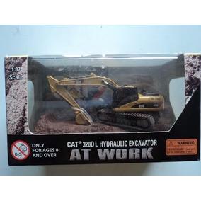 Miniatura Escavadeira 320 Dl Escala 1/87