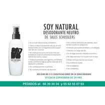 Desodorante Natural De Sales De Schusslers