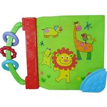 Libro De Tela Didactico Con Texturas Espejo Biba Toys Para B