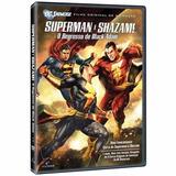 Dvd Showcase Superman E Shazam - O Regresso Do Adão Negro