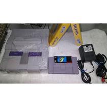Super Nintendo + Mario World Original + 2 Brindes