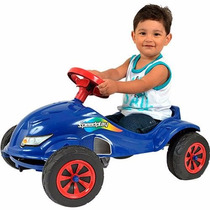 Carro Pedal Infantil Passeio Motoca Speedplay Azul Homeplay