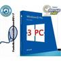 Oferta Windows 8.1 Pro - Licencia Original - 3 Pc