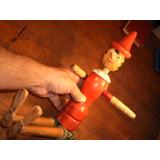 Pinocho De Madera Gran Tamaño