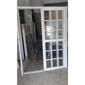 Ventana Balcon 150x200 Vidrio Repartido Linea Herrero