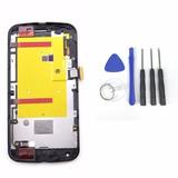 Display Frontal Moto G2 Tela Touch Lcd + Kit Ferramentas