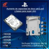 Aumento De Capacidad Para Consolas De Ps3