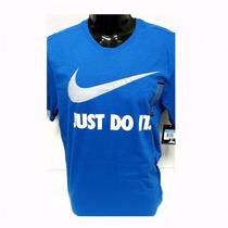 Polera Nike Original Hombre. Azul Talla M Cod 2945