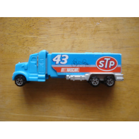 Tractocamion Serie Nascar Pez Mide 11 Cms