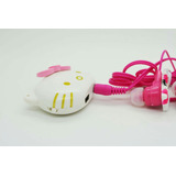 Reproductor Mp3 Hello Kitty + Cargador Mini Usb + Audifonos