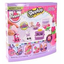 Poppit Plastilina Set De Actividades Shopkins Original