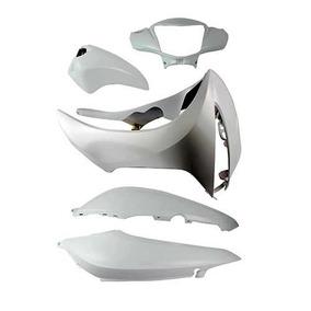 Kit Carenagem Biz 125 Ex 2015 Branco Fosco Paramotos 37377