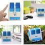 Mini Climatizador Ventilador Com Água Portátil Usb/pilha