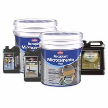 Recuplast Microcemento Kit Completo Para 25m2