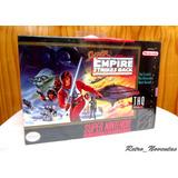 Juego Star Wars The Empire Snes Super Nintendo Nuevo Sellado
