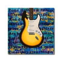 Arte Impreso Ginger Grasley, Fender Telecaster Bob Dylan, 18