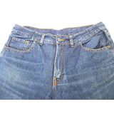 Jeans Fullback Hombres Talle 46 L Sin Bolsillos Traseros