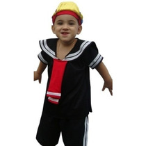 Fantasia Quico/kiko Infantil Turma Do Chaves